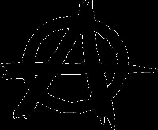 Znak anarchie, áčko v kruhu